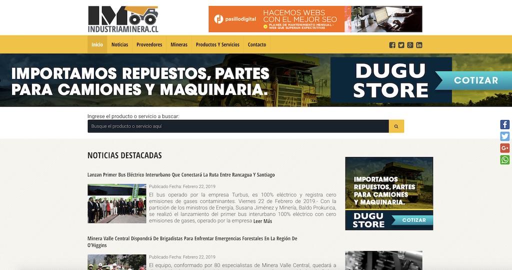 Industria-Minera-SEO-Pagina-Web-Pasillo-Digital